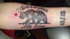 California Bear Tattoo. Next tat idea