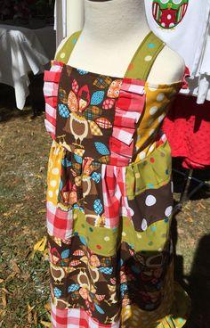 OOAK Turkey Themed Dress!