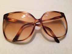 Vtg Designer Oversized Butterfly Women's Sunglasses France Frame FLEXLIGHT Retro #FLEXLIGHT #Butterfly