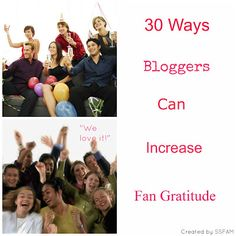 Simple Savings for ATL Moms: 30 ways Bloggers Can Increase Fan Gratitude + loyalty!