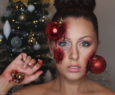 christmas special effects makeup by kristina rose - Halloween Effects Makeup
