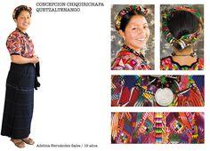 Traje típico de Concepcion Chiquirichapa, Quetzaltenango, Guatemala