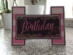Made by Maxcine Etherington for Craftwork Cards using the Heritage Rose collection. Heritage Rose, Homemade Birthday Cards, Craftwork Cards, Pretty Cards, Projects To Try, Card Making, Create, Children, Card Ideas