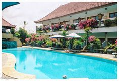 Hotel Mentari Sanur in Sanur, Bali. Beautiful small hotel, a little off the beaten path, not on the ocean, but wonderful tranquil garden, nice pool, excellent staff en very nice rooms. Sanur Bali, Nice Rooms, Cool Pools, Places Ive Been, Paths, Ocean, Garden, Outdoor Decor, Beautiful