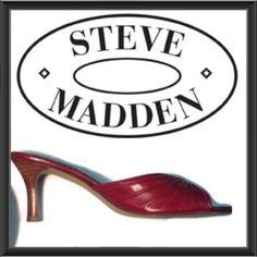 Steve Madden Red Kitten Heels