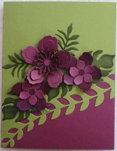 Razzleberry and Blackberry Botanicals by jreks - Cards and Paper Crafts at Splitcoaststampers