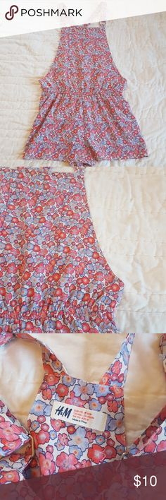 H&M floral romper Fun and floral romper from H&M. Nice and light weight for warm weather. Great condition and from a smoke free home. H&M Matching Sets