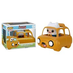This is the Adventure Time POP Rides Jake Car With Finn Figure made by Funko. As far as Funko POP Vinyl special releases, the Jake Car With Finn ranks up there among the best. Awesome. Recommended Age