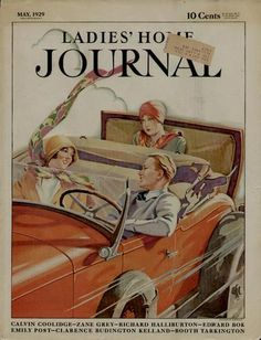 1929 Ladies Home Journal Cover Artist Ben Dale