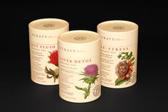 New Zealand based agency Redfire Design created the elegant packaging for Puraty Organic Teas. Given the medicinal quality of these teas, it was only fitting that botanical illustrations adorn the packaging. Medicine Packaging, Tea Packaging, Cosmetic Packaging, Tea Live, Detox Organics, Tea Design, Liver Detox, Organic Living, Tea Blends