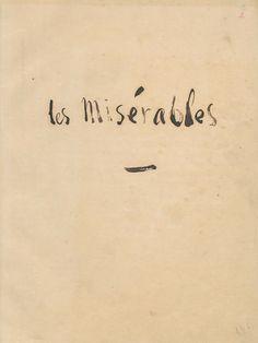Un Ministerio de Fomento, de la Lectura. Por pedir... (Les Misérables by Victor Hugo)