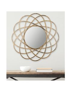 Safavieh Galaxy Wall Mirror, Antique Gold at MYHABIT