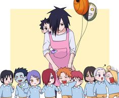 :3 soooo... Madara's daycare ^-^ because only him can survive these little devils! Muaaahaha