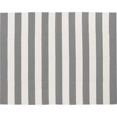 Olin Grey 8'x10' Rug in Area Rugs | Crate and Barrel. $299. Carpet pad $89