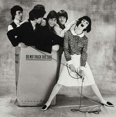 Rolling Stones photoshoot with known model of Sixties