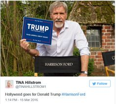 This photo of Harrison Ford is not what it seems