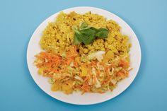Karfiollal sült bulgur friss zöldségekkel: egészséges, karcsúsító fogás - Recept | Femina