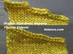 Bu gün sizlere yine örgüde kesim tekniklerinden biri olan, örgü omuz kesimi… Today, I will talk to you about knitting shoulder cut which is one of the cutting techniques in knitting. We have illustrated many knitting cutting techniques before Baby Knitting Patterns, Knitting For Kids, Crochet For Kids, Knitting Stitches, Crochet Baby, Crochet Motifs, Knitting Videos, Crochet Clothes, Baby Knitting