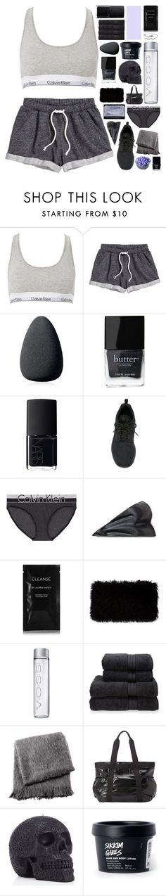 """WE GOT OUR WILD LOVE RAGING"" by awakened-paradise ❤ liked on Polyvore featuring Calvin Klein, H&M, Christian Dior, Butter London, NARS Cosmetics, NIKE, Cleanse by Lauren Napier, Donna Karan, Christy and From the Road"