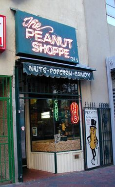 The Peanut Shoppe is the place to go if you're nuts.