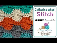 How To Crochet Catherine Wheel Stitch - Right Hand - YouTube
