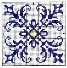 Biscornu Cross Stitch, Cross Stitch Tree, Cross Stitch Borders, Cross Stitching, Cross Stitch Patterns, Loom Patterns, Knitting Patterns, Crochet Patterns, Plastic Canvas Coasters