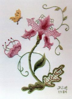 Embroidery pattern for Brazilian embroidery