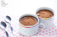 Receita fácil de mousse de chocolate com doce de leite do Naminhapanela.com | Receitas e Gastronomia