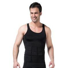 faafb116418 Men Slim Body Lift Shaper Belly Fatty BUSTER Underwear Vest Corset  Compressionheavengifs