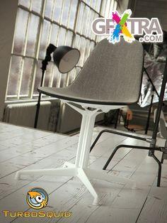 TurboSquid - Eames Plastic Side Chair by BBB3viz