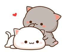 The perfect Cute Cats Cartoon Animated GIF for your conversation. Discover and Share the best GIFs on Tenor. Chat Kawaii, Kawaii Cat, Chibi Cat, Cute Chibi, Cute Love Gif, Cute Cat Gif, Kawaii Drawings, Cute Drawings, Gif Mignon