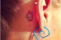 10 Angelic Cupcakes Tattoo Designs
