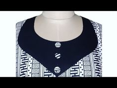 Very Beautiful and Simple Neck Design For Kameez/Kurti Cutting And Stitching || trendy Fashion - YouTube
