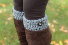crochet leg warmers | Crochet Boot Cuffs/Leg warmers by viKERRYous on Etsy