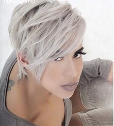 Yeni Saç Rengi Küllü Platin