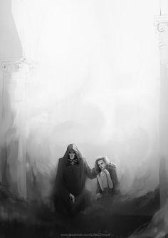Harry Potter: Death and The Maiden by LittleChmura.deviantart.com on @DeviantArt