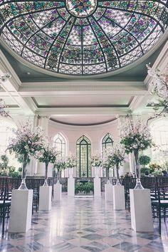 WedLuxe – The WedLuxe Wedding Show 2015: The Parisian Blossom Garden