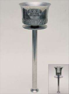Photo: The torch design for the 1948 Olympic Games
