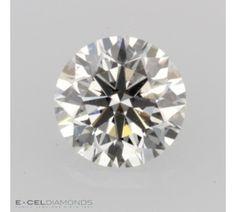 GIA Graded Round Diamond - 0.77 Carat, I Color, SI1 Clarity