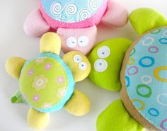 Baby Turtle Softies | Craftsy