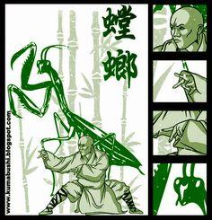 Kuma Bushi : Graphics and Martial Arts: Kung Fu: Mantis Style Aikido Martial Arts, Martial Arts Workout, Qi Gong, Different Martial Arts, Marshal Arts, Shaolin Kung Fu, Chinese Martial Arts, Art Rules, Martial Artist