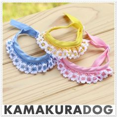 KAMAKURADOG Key net scarf - Purchase now to accumulate reedemable points! Dog Grooming Supplies, Dog Clothes Patterns, Pet Fashion, Chihuahua Puppies, Dog Birthday, Pet Collars, Dog Bandana, Dog Bowtie, Dog Accessories