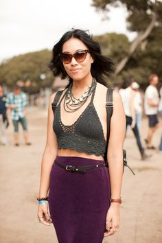First City Festival Fashion @Ruth Estrada Sitver this top in white