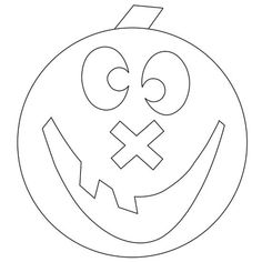Your little ones will love coloring these fun pumpkins. Download free pumpkin coloring pages for kids: http://www.bhg.com/halloween/pumpkin-carving/free-pumpkin-coloring-pages-for-kids/?socsrc=bhgtr102213coloringpages&page=1