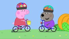 Peppa Pig: Bicycles. Cartoons for Kids/Children