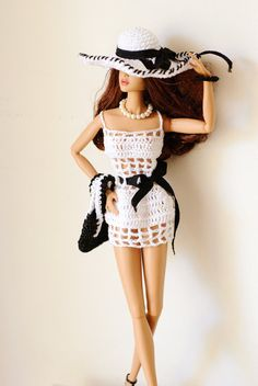 Barbie Fashion Royalty Summer dress set by RiasPetiteBoutique, €23.00