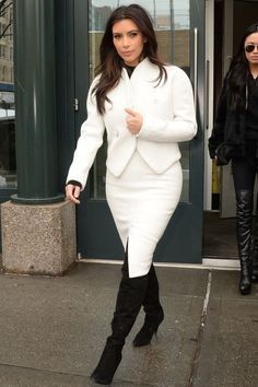 hether you're a fan or foe, you have to admit Kim Kardashian underwent a major style makeover in 2014. Click through for the best of the reality star's wardrobe this year.
