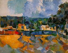 pintura paisaje abstracto cezanne - Buscar con Google