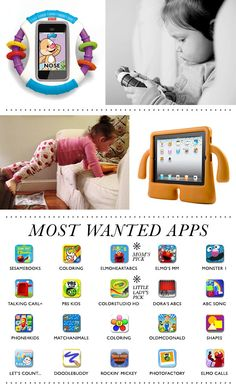 Great list of iPad apps for kids #ipad #aps