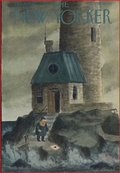Charles Addams' cover for The New Yorker's Valentine's issue, 1951